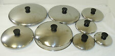 "Revere Ware Replacement Lids Stainless Steel 5"" 6"" 7"" 8"" 9"" 10"" 11"" Dome MORE"