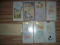 Grusskarte Motiv NEU 3 Karten Auswahl Hochzeit Vermählung Verlobung Geburt Taufe