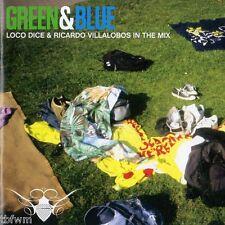 Loco Dice Ricardo Villalobos In The Mix Green & Blue RARE 2CD TECH HOUSE MINIMAL