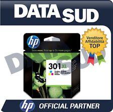 CARTUCCIA HP 301 XL ORIGINALE TRI-COLORE INK-JET PER HP Deskjet 1000...