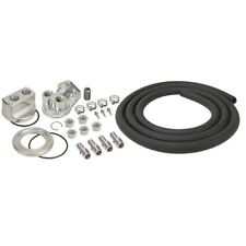 """Derale 15748 Universal Engine Oil Filter Relocation Kit with 1/2"""" NPT Ports"""