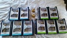 Schlage Georgian style door knobs 5 Bed&Bath and 5 Hall&Closet +2 dummy knobs