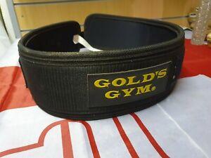 Golds Gym Weight Lifting Belt Lumbar Back Support Power Training medium
