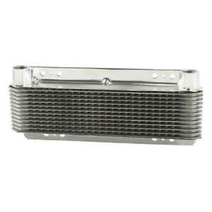 B&M 70265 Super Cooler Polished Aluminum Transmission Oil Cooler