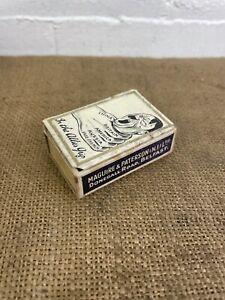 Rare Antique Hitler 'In The Allies Grip'- WW2- Matchbox Cover / Case / Holder