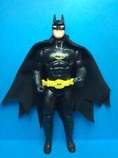 VINTAGE BATMAN TOY BIZ ACCESSORY-BATMAN'S BLACK REPRO CAPE WITH NECK RING..