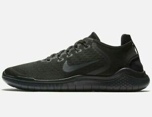 Nike FREE RN 2018 Men's Running Shoe 942836-002 Black/Anthracite Sizes