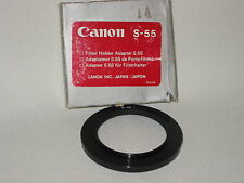 CANON S-55 FILTER HOLDER ADAPTER