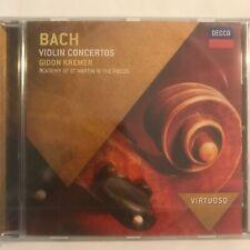 Bach violin concertos gidon kremer cd 12 titres neuf sous blister