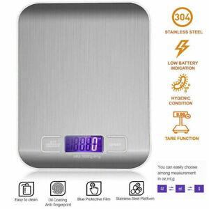 Digital Electronic LCD Kitchen Scales Household Cooking Food Weighing Scales 5KG