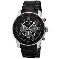 New Men's Joshua & Sons JS67SSB Two-tone Quartz Chronograph Date Bracelet Watch