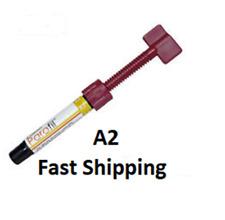 A2 Dental Parafil Zirconium composite universal restorative Syringes Prime USA