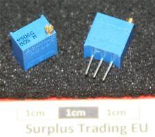 "Bourns 3299W 3/8"" Square 50Ω Vertical Trimpot Preset Resistor"