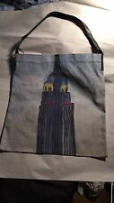 NWT authentic FOLEY & CORRINA ltd edit EMPIRE STATE BUILDING nyc TOTEBAG v. rare