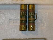 (LOT OF 2)KE 40A 250v one time fuse