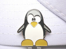 Penguin Golf Ball Marker - W/Bonus Magnetic Hat Clip