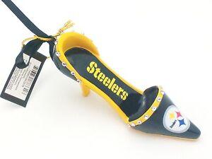 Pittsburgh Steelers 4 Inch Decorative Team Shoe Ornament