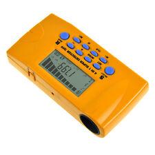 Digital 4 in 1 Ultrasonic Rangefinder Wood Stud Finder ACwire Metal Detector LCD