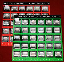 2LP U.S.TV THEMES Le Disque Des Séries Américaines Vol 1+2 - Tubes Cathodiques