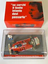 1:43 Brumm S09/01 1980 Ferrari 126C F1 Gilles Villeneuve Italian Grand Prix
