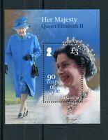 Tristan da Cunha 2016 MNH Queen Elizabeth II 90th Birthday Style 1v S/S Stamps