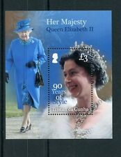 Tristan da Cunha 2016 MNH Queen Elizabeth II 90th Birthday Style 1v S/S Stamps