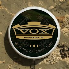 VOX AMPLIFICATION GUITARS Light up LED wall sign musical instruments ELECTRIC