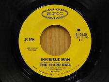 The Third Rail 45 Invisible Man / Boppa Do Down Down ~ Epic VG / VG-