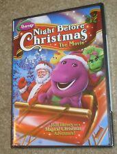 Barney - Night Before Christmas (DVD, 2008), NEW & SEALED,FULL SCREEN,FAMILY FUN