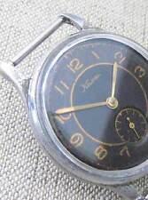 KAMA ChChZ VOSTOK Vintage 1958 Gold in Black Soviet Russian Mechanical Men Watch