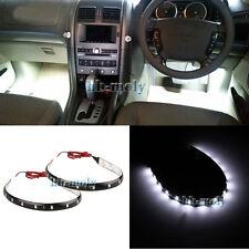 2Pcs White LED Interior Strip Footwell Light For Toyota Landcruiser Prado 150