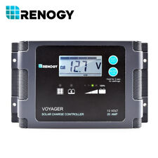 20A PWM Waterproof Charge Controller with LCD Display 12V Off Grid Regulator