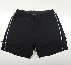 REI Women's Black Piedra Padded Mountain Bike Shorts zip Pockets Nylon Sz S