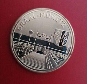Memodaille, Europe Collection Graal Müritz Seebrücke Souvenier Münze Medaille