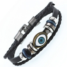 2019 Multilayer Bracelet WOMEN/MEN Casual Fashion Braided Leather Punk Rock 122
