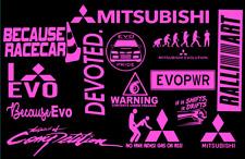Mitsubishi Decal Sticker - Mitsubishi Group JDM Lancer Evo Eclipse