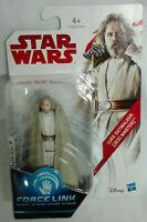 1 Action Luke Skywalker Star Wars Force Link 9,4 cm Gli utlimi Jedi Clone
