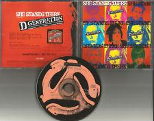Jesse Malin D GENERATION She Stands there PROMO DJ CD Single Ric Ocasek THE CARS