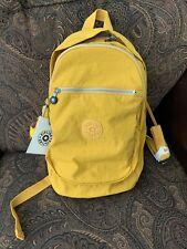 Kipling Challenger Warm Yellow Nylon Medium Backpack BP4459 Beautfful
