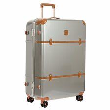 "NEW Brics SILVER Bellagio Metallo 32"" Spinner Luggage Trunk Bric's TSA Locks"