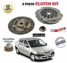 FOR DACIA LOGAN 1.5 DCI 2005-->NEW 3 PIECE CLUTCH PLATE COVER BEARING KIT SET