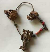 WOLF BONE NECKLACE Hot Toys MMS 53 AVPR Predator ALIEN VS PREDATOR 1/6th