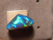 3.6 ct    black  opal , Lightning ridge    #  1012
