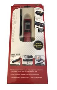 VuPoint 2011 Magic Wand II Portable Receipt Scanner New In Box PDS-ST441R-VP-HSN