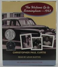 The Watsons Go To Birmingham - 1963 / By Christopher Paul Curtis (CD Audiobook)