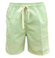 Soul Star Men's Lana Swim Beach Shorts Mint Green Medium