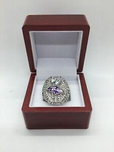 2012 Baltimore Ravens Joe Flacco Super Bowl Championship Ring Set with Box