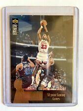 1995-96 UD Collectors Choice MICHAEL JORDAN Jordan Collection Insert #JC2!!
