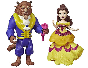 DISNEY PRINCESS ROYAL CLIPS PRINCESS BELLE BEAUTY AND BEAST DOLL 2 FIGURE HASBRO