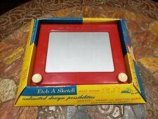Vintage Etch a Sketch toy in original box no. 505